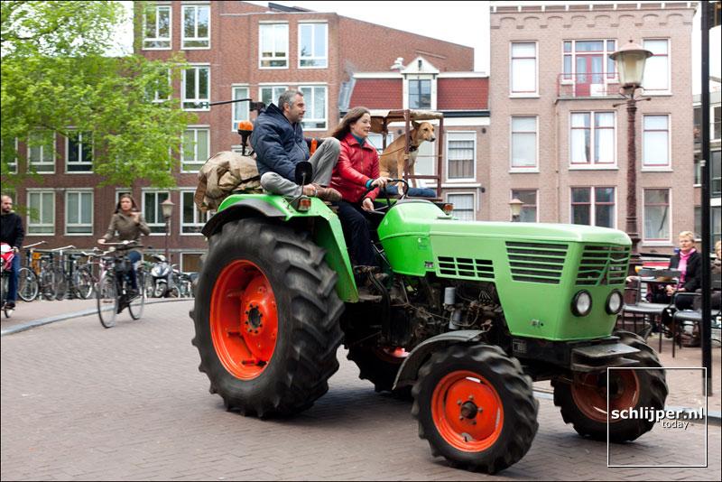 Nederland, Amsterdam, 6 mei 2012