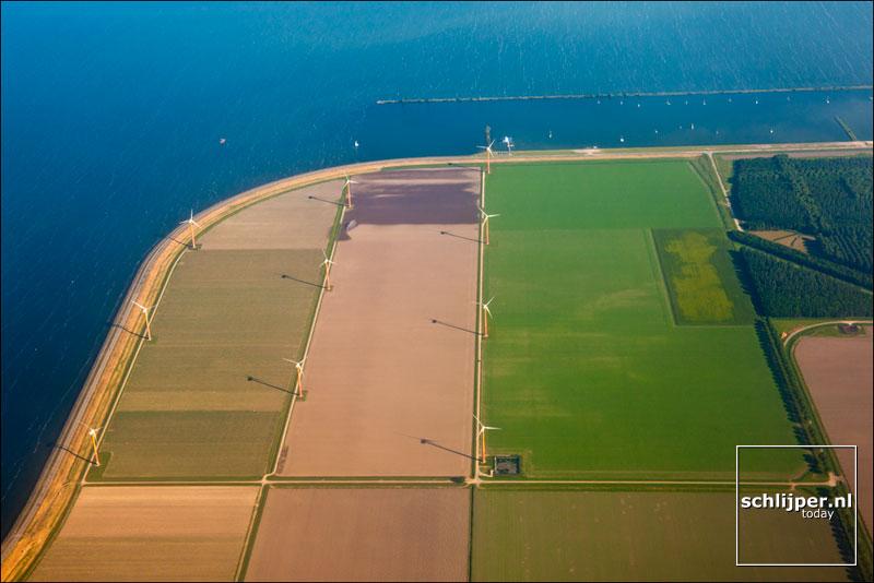 Nederland, Almere-Pampus, 28 mei 2012