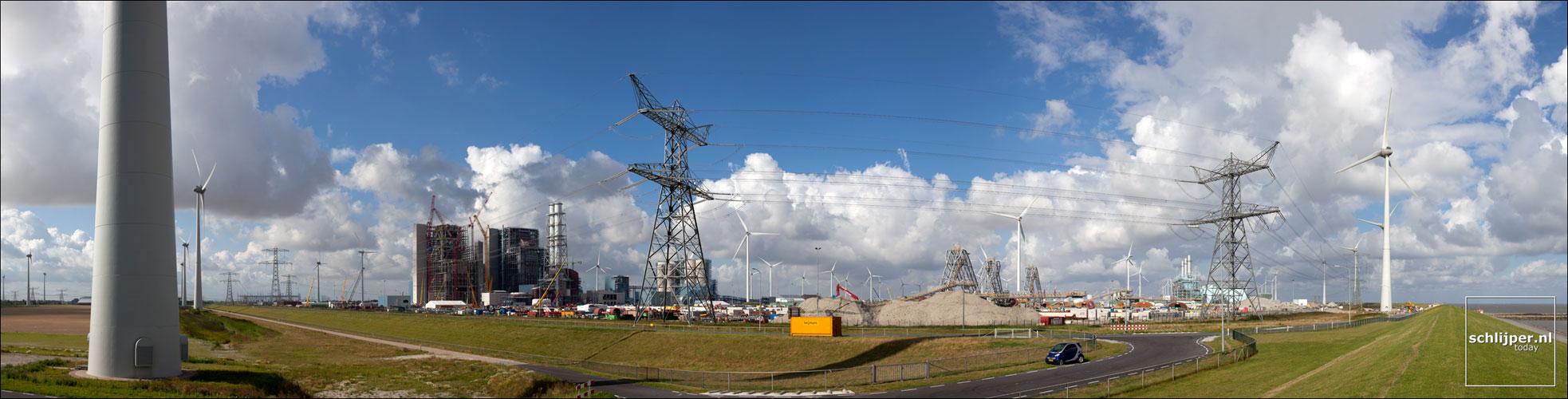 Nederland, Eemshaven, 22 augustus 2012
