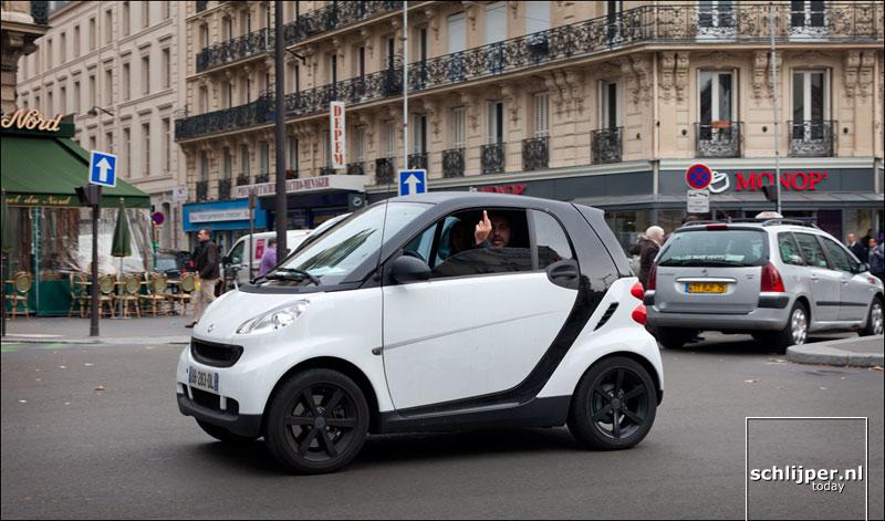Frankrijk, Parijs, 29 oktober 2012