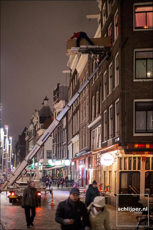 Nederland, Amsterdam, 18 januari 2013