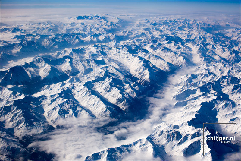 Oostenrijk, Alpen, 22 februari 2013