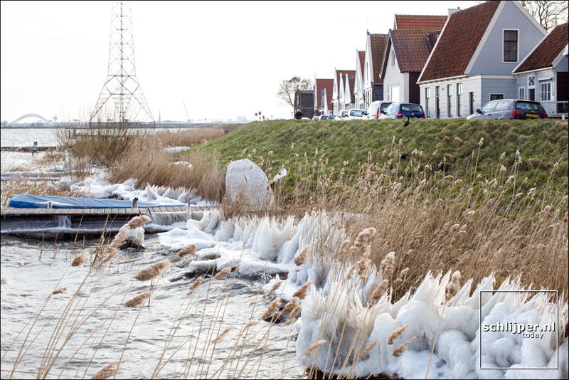 Nederland, Durgerdam, 25 maart 2013
