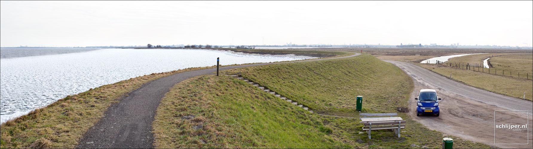 Nederland, Uitdam, 25 maart 2013