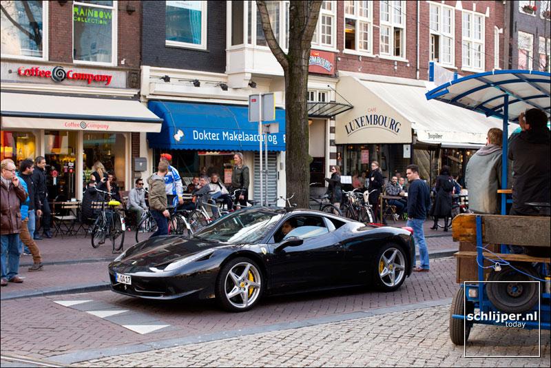 Nederland, Amsterdam, 13 april 2013