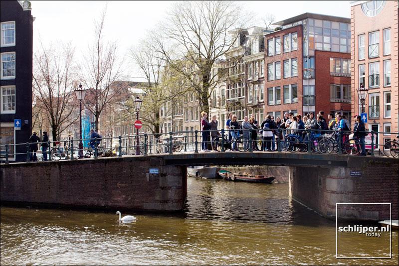 Nederland, Amsterdam, 15 april 2013