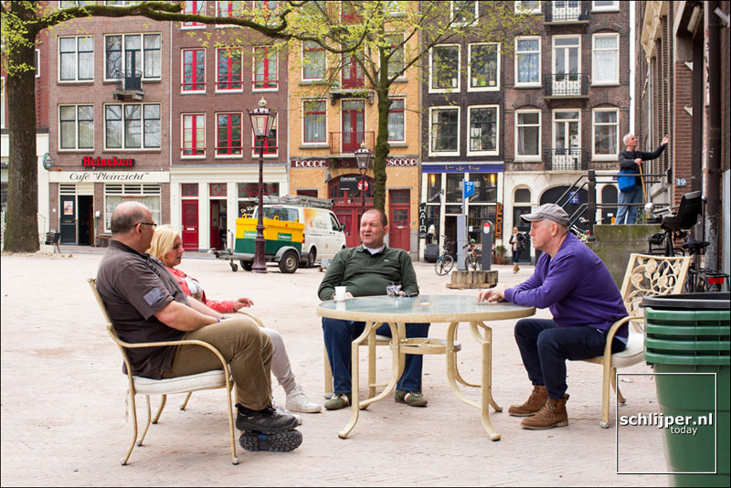 Nederland, Amsterdam, 25 april 2013