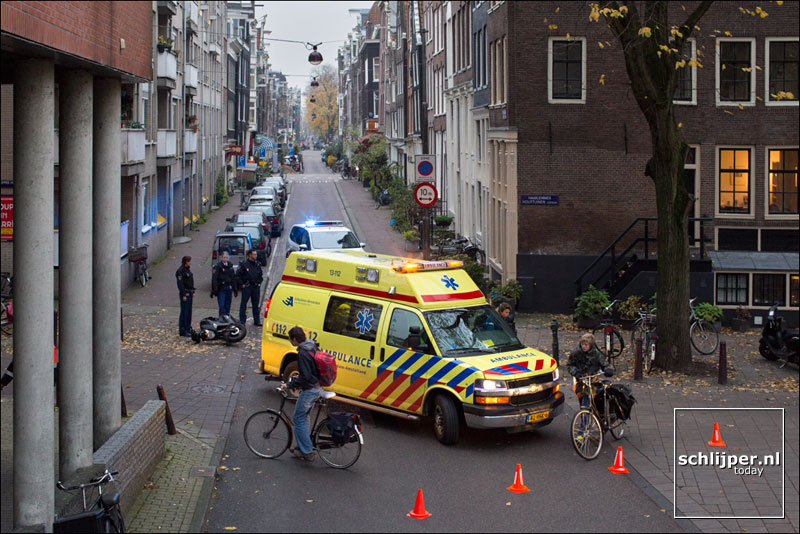 Nederland, Amsterdam, 18 november 2013