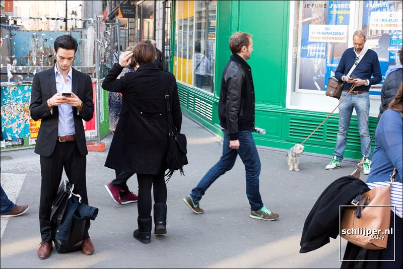 Frankrijk, Parijs, 9 maart 2014