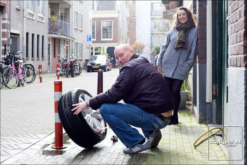 Nederland, Amsterdam, 16 maart 2014