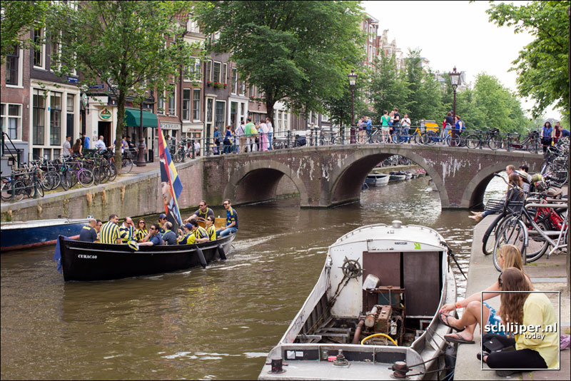 Nederland, Amsterdam, 25 mei 2014