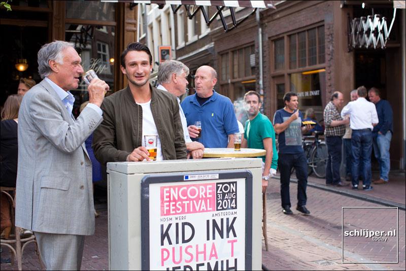 Nederland, Amsterdam, 3 september 2014