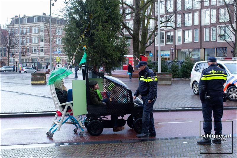 Nederland, Amsterdam, 15 december 2014