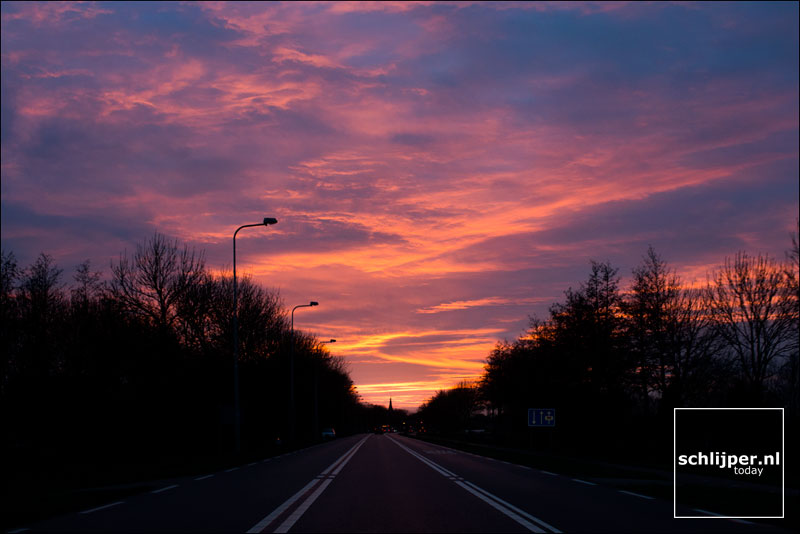 Nederland, Ouderkerk aan de Amstel, 30 december 2014