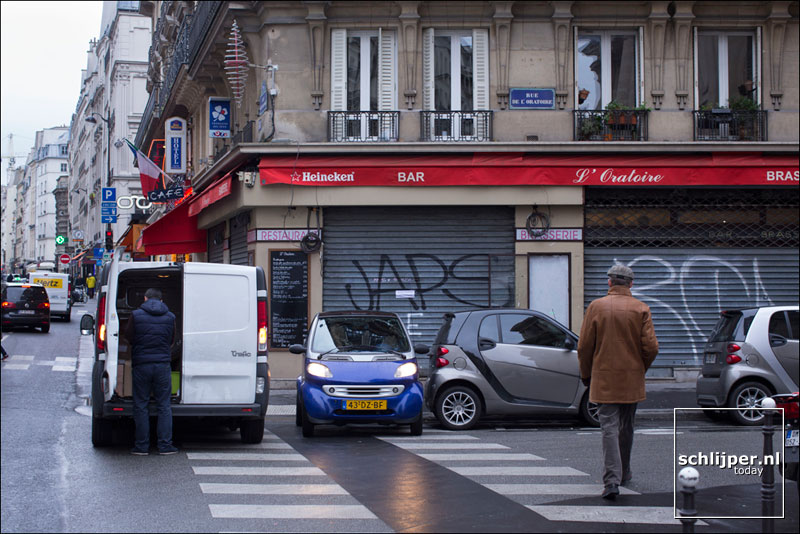 Frankrijk, Parijs, 26 januari 2015