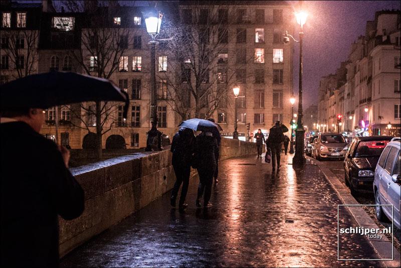 Frankrijk, Parijs, 25 januari 2015