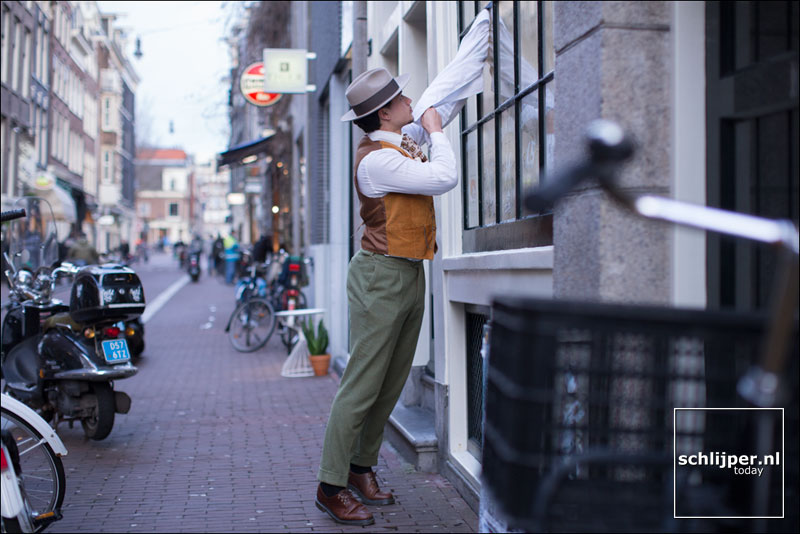 Nederland, Amsterdam, 27 januari 2015