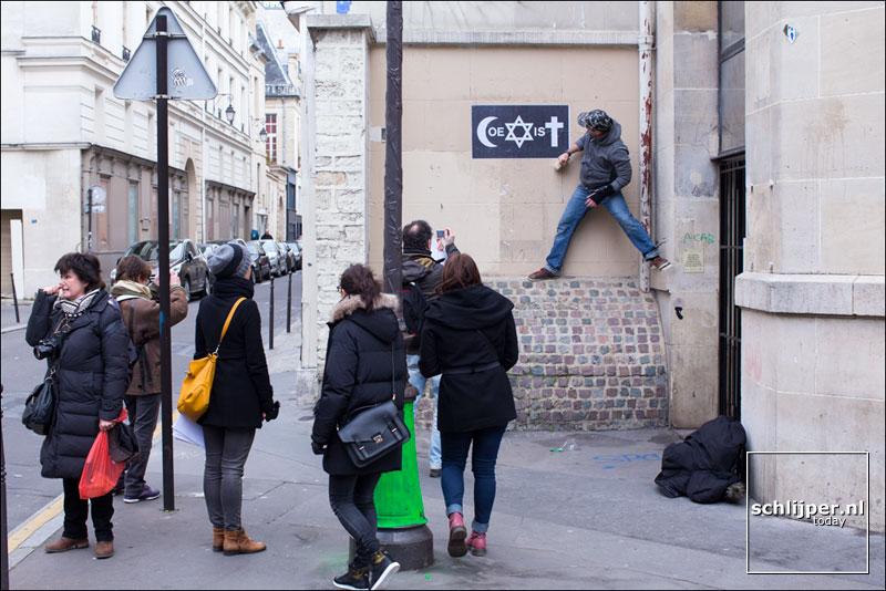 Frankrijk, Parijs, 8 februari 2015