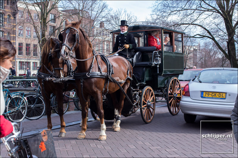 Nederland, Amsterdam, 7 maart 2015