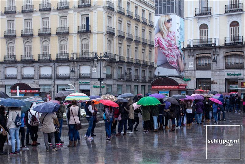 Spanje, Madrid, 26 april 2015
