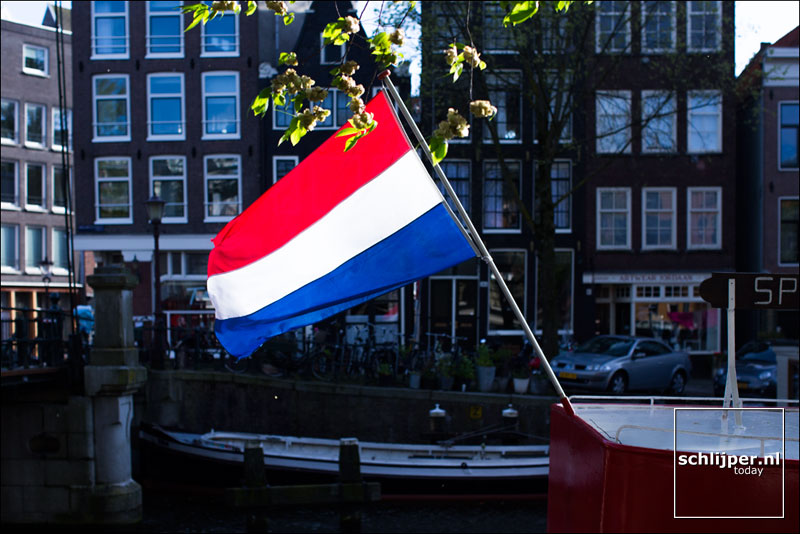Nederland, Amsterdam, 5 mei 2015