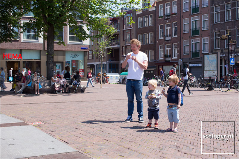Nederland, Amsterdam, 11 juli 2015