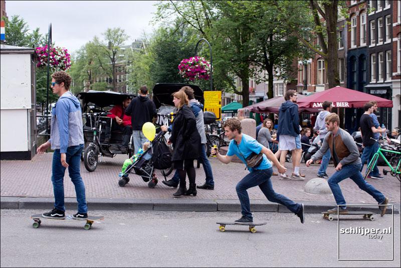 Nederland, Amsterdam, 15 juli 2015