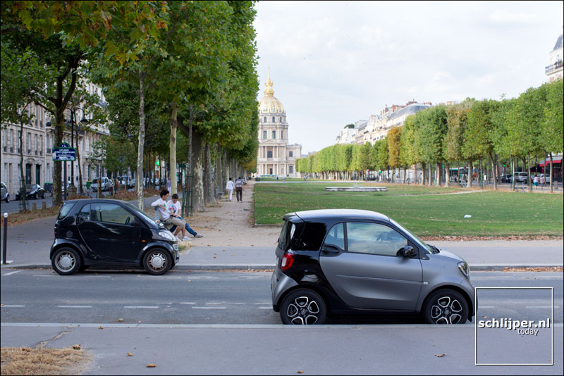 Frankrijk, Parijs, 7 augustus 2015
