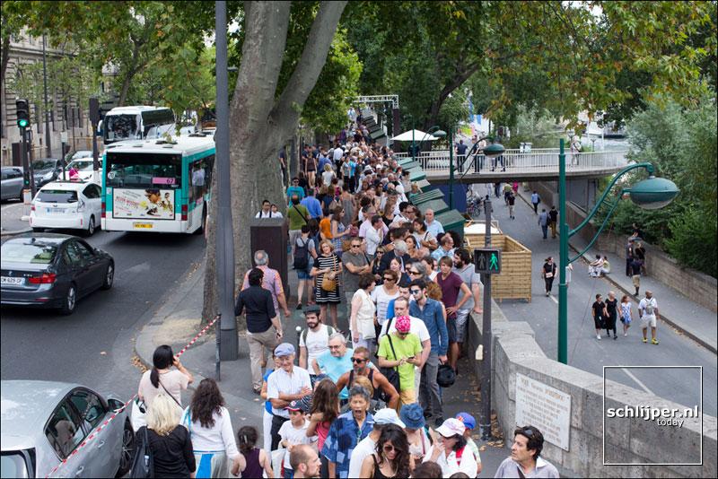 Frankrijk, Parijs, 13 augustus 2015