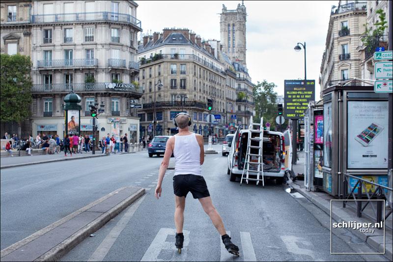 Frankrijk, Parijs, 16 augustus 2015