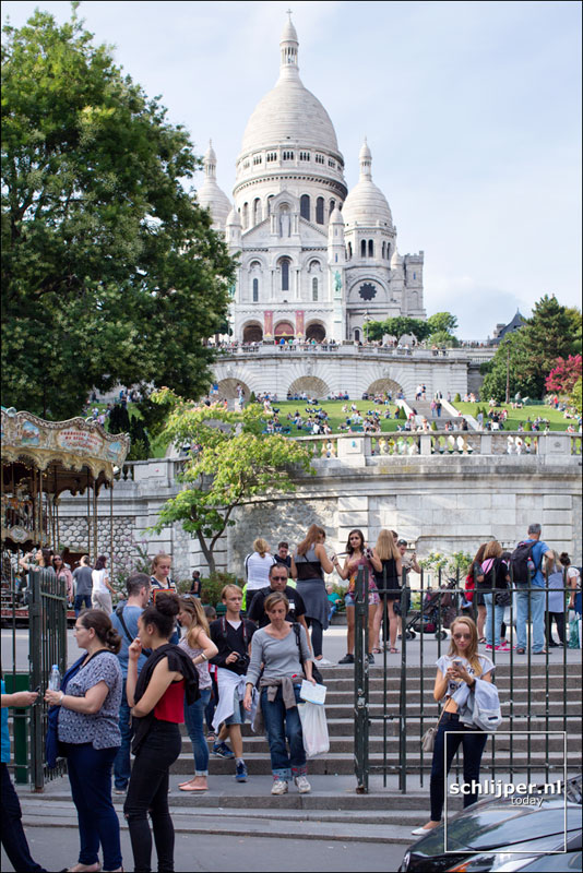Frankrijk, Parijs, 19 augustus 2015
