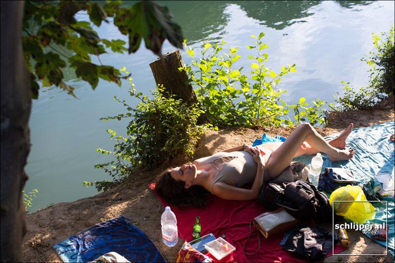 Frankrijk, La Ferte-sous-Jouarre, 22 augustus 2015