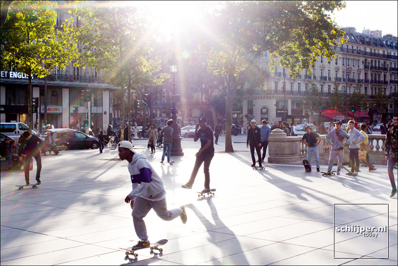 Frankrijk, Parijs, 6 september 2015