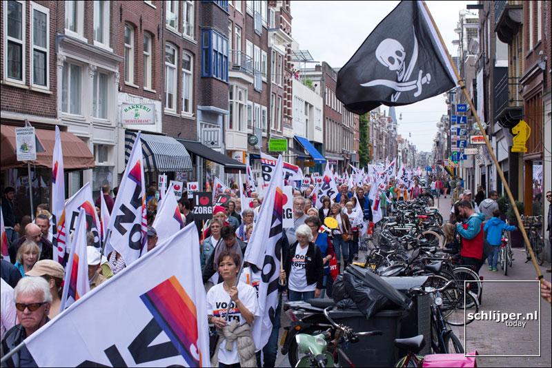 Nederland, Amsterdam, 12 september 2015
