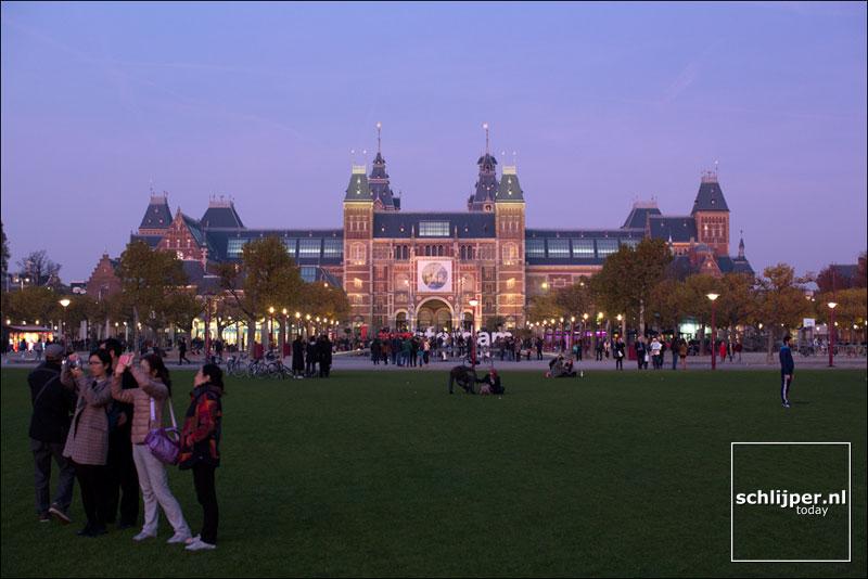 Nederland, Amsterdam, 31 oktober 2015