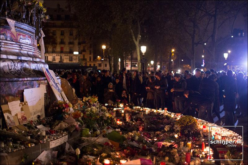 Frankrijk, Parijs, 15 november 2015