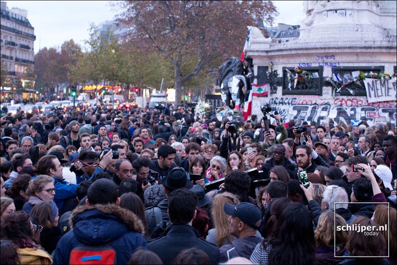 Frankrijk, Parijs, 16 november 2015