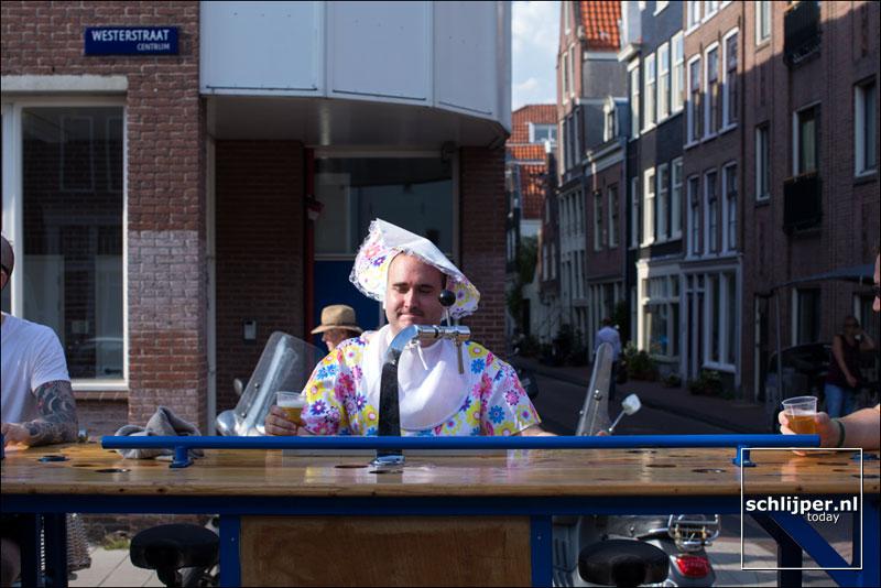Nederland, Amsterdam, 27 augustus 2016