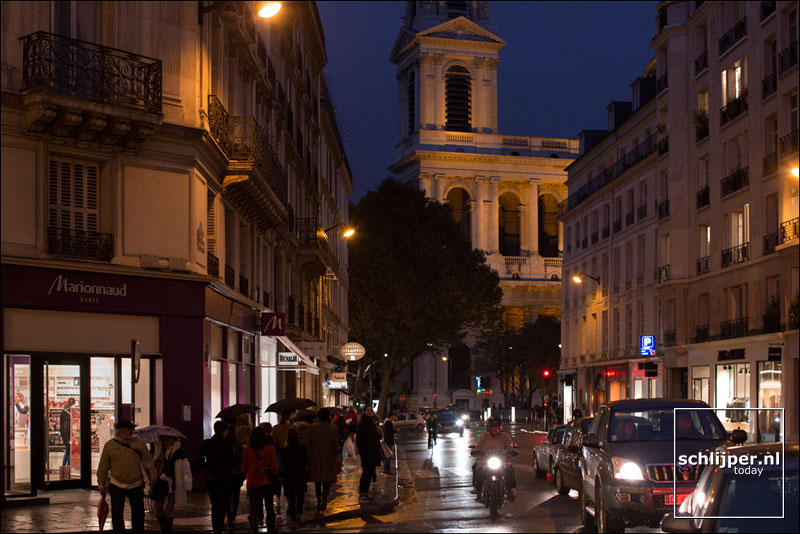 Frankrijk, Parijs, 5 november 2016