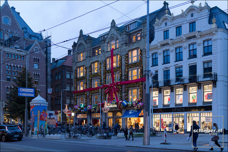 Nederland, Amsterdam, 24 december 2016