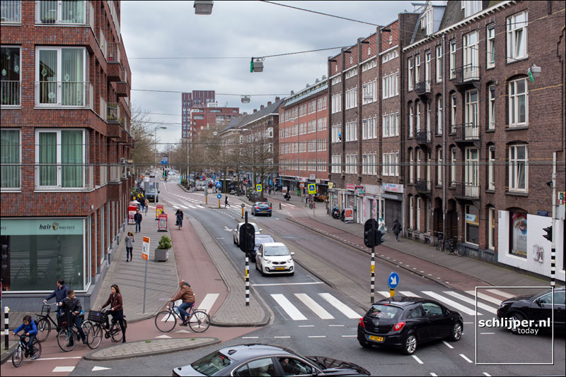 Nederland, Amsterdam, 1 april 2017