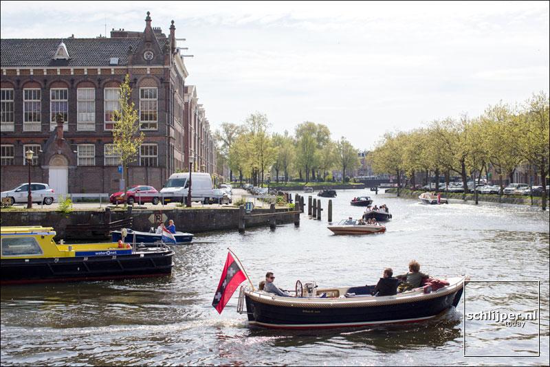 Nederland, Amsterdam, 22 april 2017