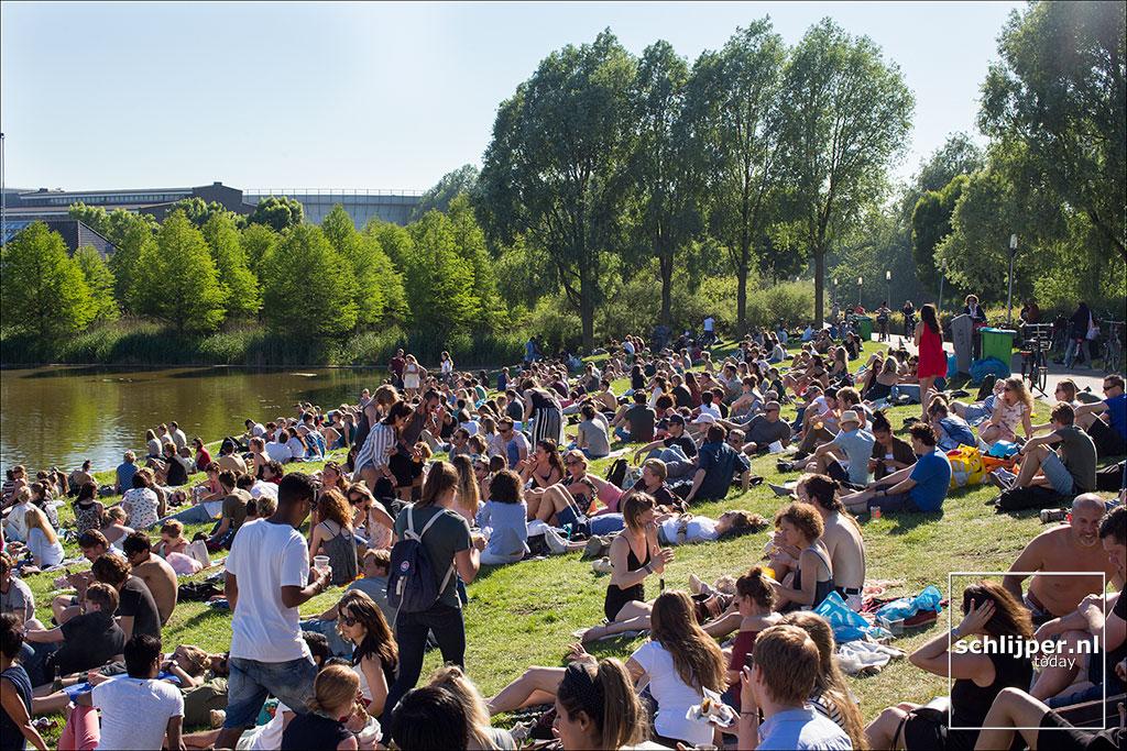 Nederland, Amsterdam, 25 mei 2017