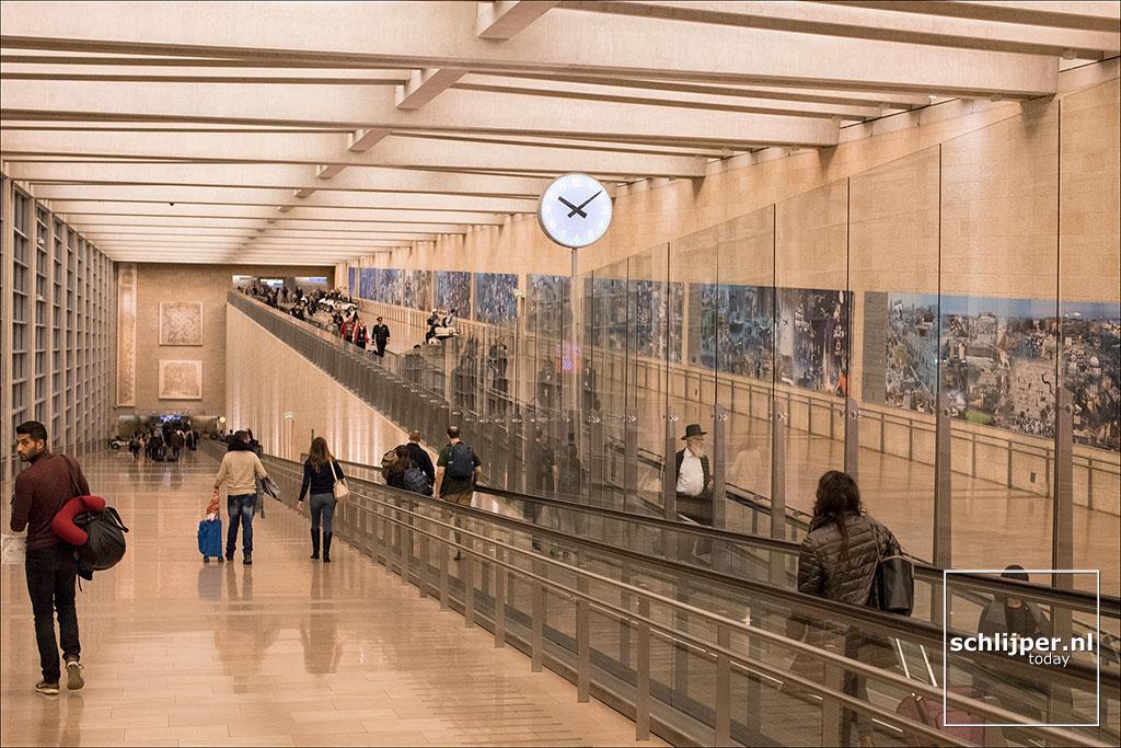 Israel, Ben Gurion Airport, 25 november 2017