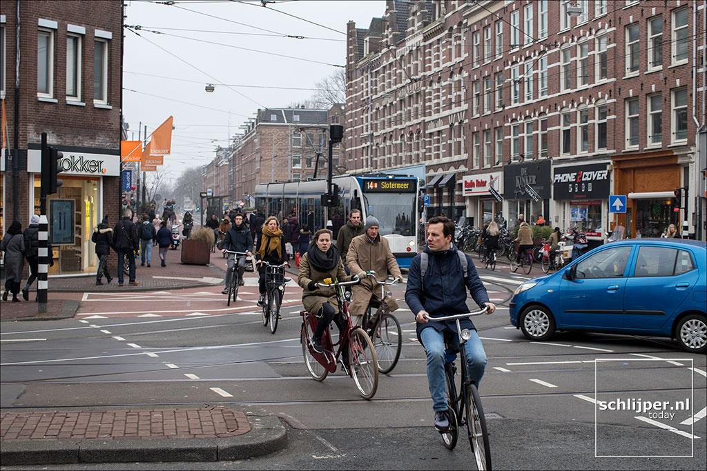 Nederland, Amsterdam, 13 januari 2018