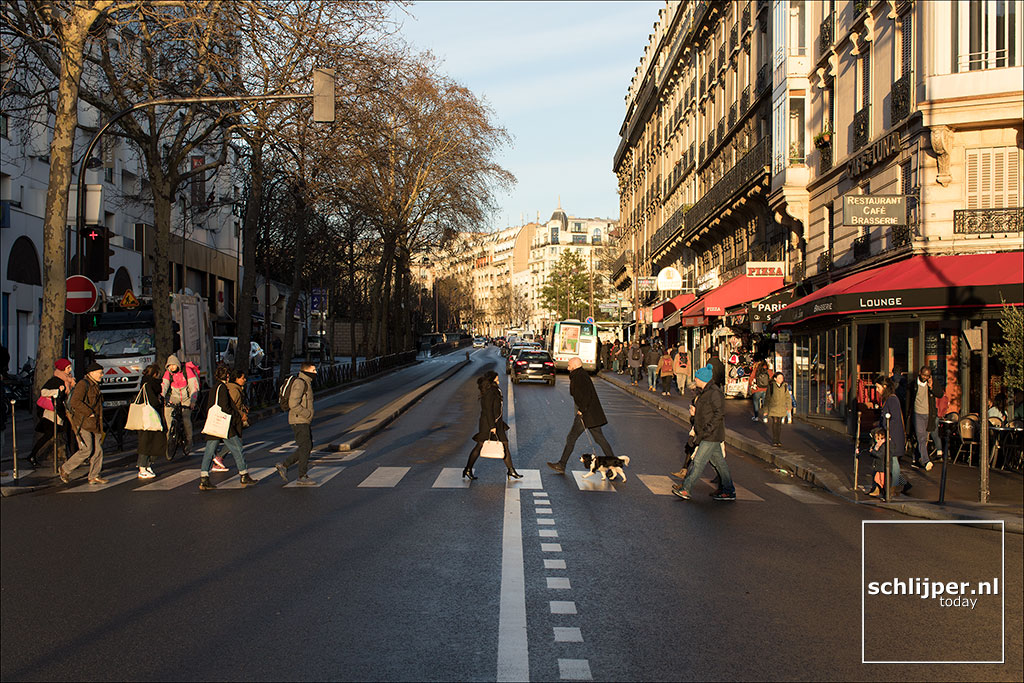 Frankrijk, Parijs, 19 januari 2018