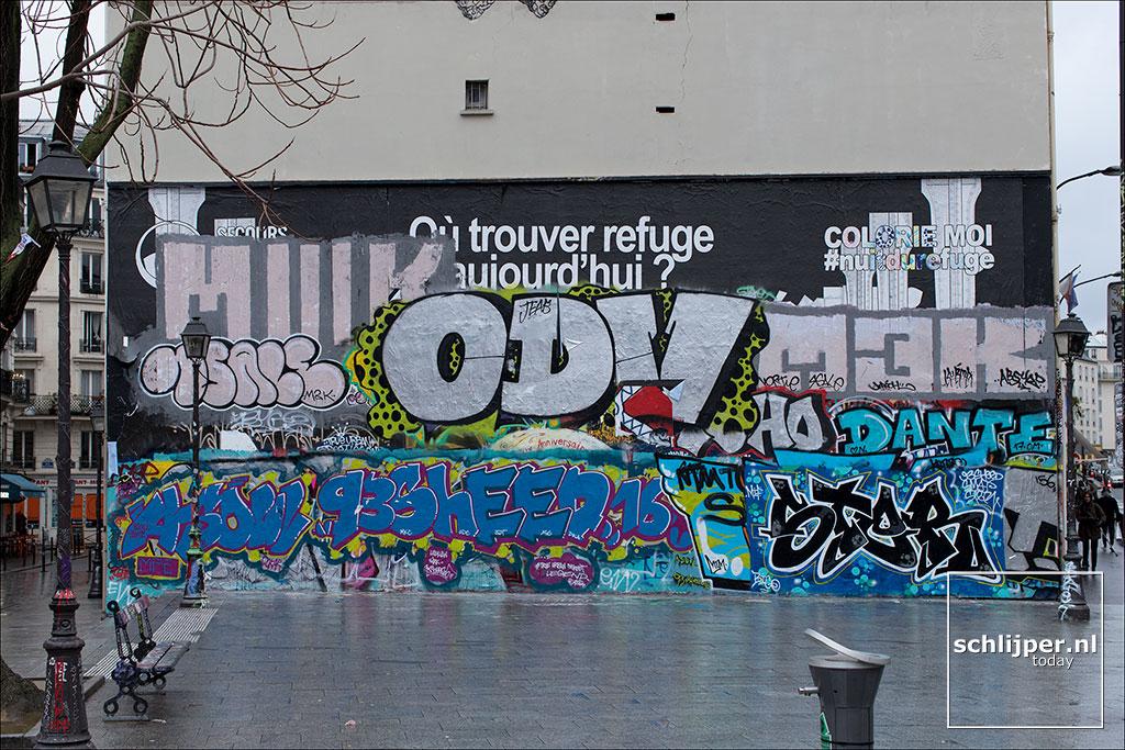 Frankrijk, Parijs, 20 januari 2018