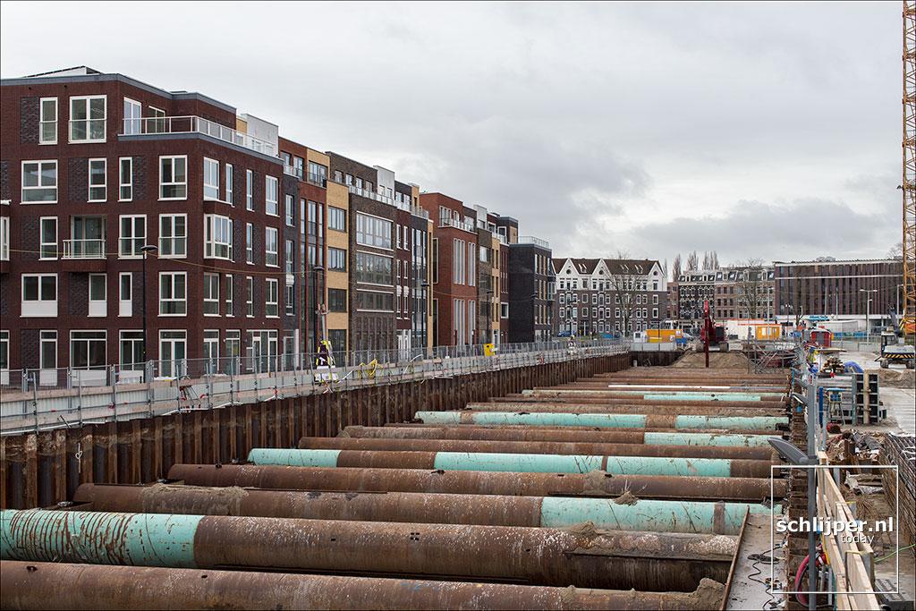 Nederland, Amsterdam, 28 januari 2018
