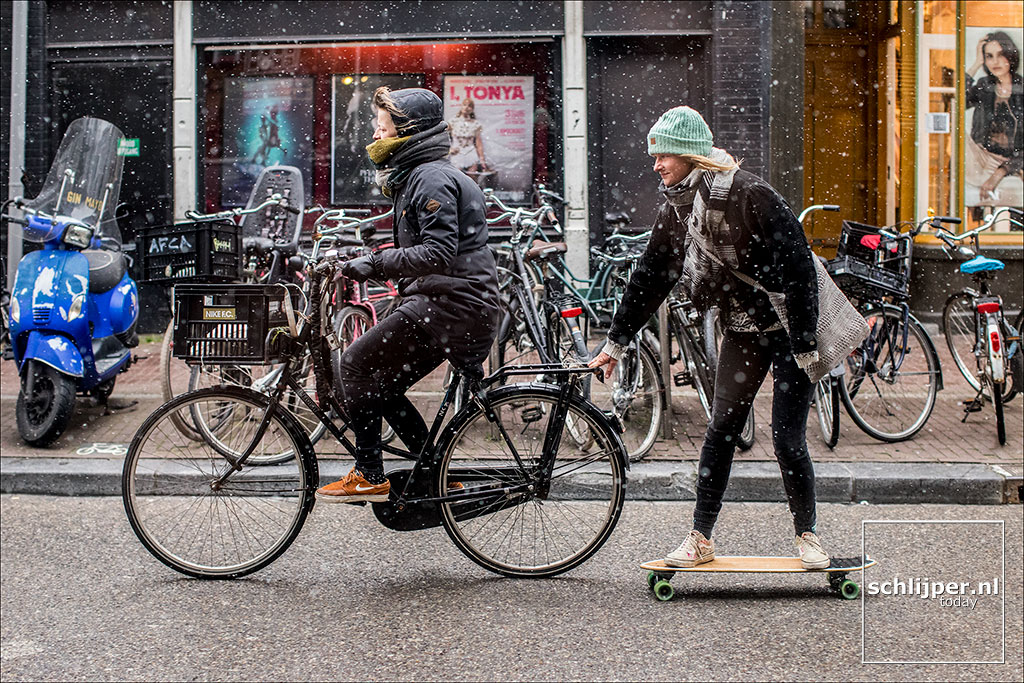 Nederland, Amsterdam, 9 februari 2018