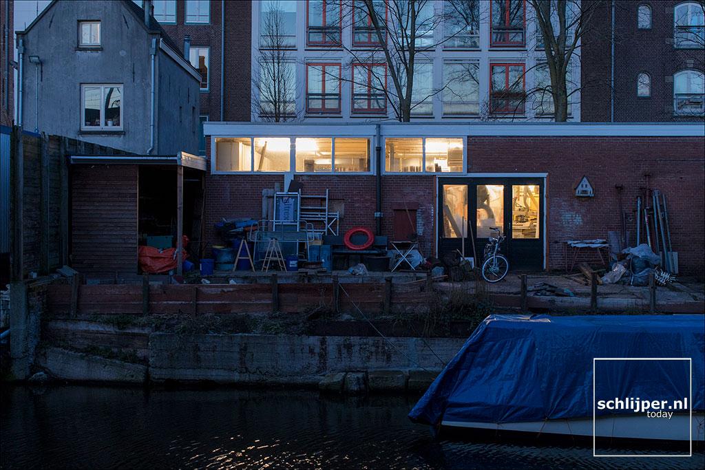 Nederland, Amsterdam, 13 februari 2018